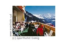 Restaurant im Sporthotel Domig in Faschina