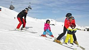 Skigebiet Golm im Montafon