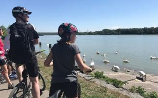 Familien-Radwanderung am Donauradweg R1