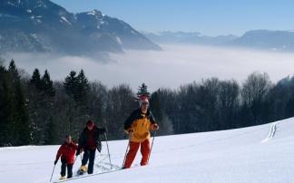 Schneeschuhwanderung in der Fuschlseeregion