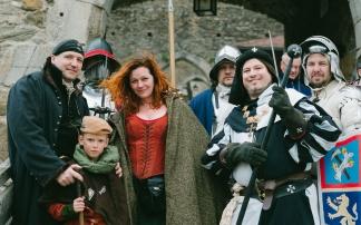 Mittelalterfest auf Burgruine Aggstein