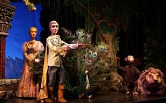 Aladdin Marionettentheater Schönbrunn