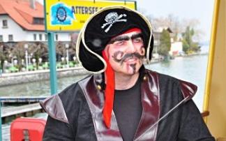 Attersee Schifffahrt Piratenschiff