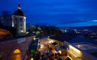 Weihnachtsmarkt am Schlossberg