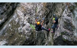 Klettersteig Austria : Climbing of drachenwand klettersteig st lorenz austria
