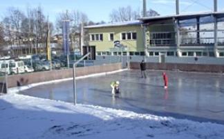 Eislaufplatz im Freizeitzentrum Axams