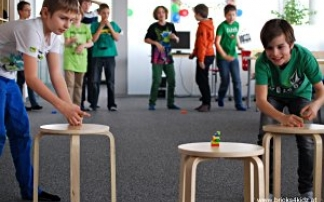 Kindergeburtstag im Bricks 4 Kidz® Creativity Center