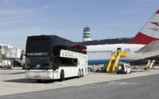 VISITAIR Tour - Rundfahrt am Flughafen Wien Schwechat