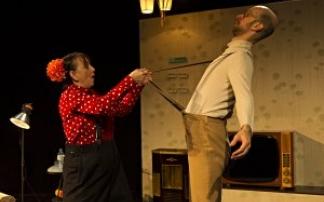 Theater Feuerblau: Clownin Fantasie im Frida und Fred