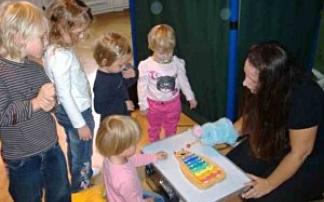 Kleinkind-Mitmachtheater Blaue Maus