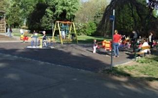 Kleinkindspielplatz im Donaupark