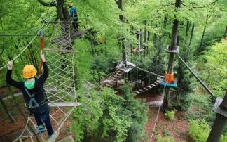 Waldhochseilpark am Erlebnisberg Luisenhöhe