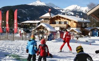 Ehrwalder Wettersteinbahnen Confettialm Tiroler Skischule