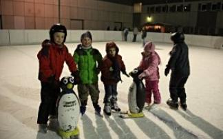 Eislaufen im Happyland Klosterneuburg