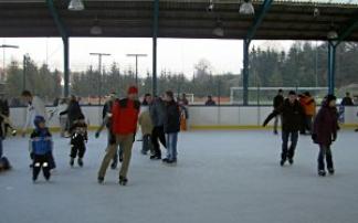 Eislaufplatz in Gars am Kamp