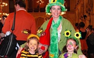 Wiener Kinderfreunde Familienfaschingfest im Rathaus