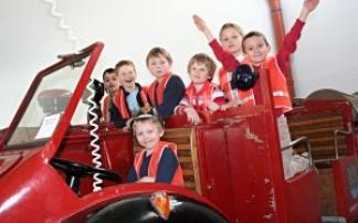 Kindergeburtstag im Steirischen Feuerwehrmuseum