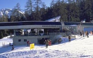 Skigebiet Schlick 2000  - Kreuzjoch in Fulpmes