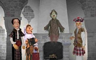 Die Geistervilla in der Wiener Urania Puppentheater