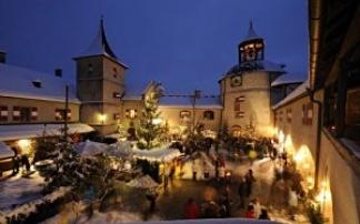Burg Hohenwerfen Advent
