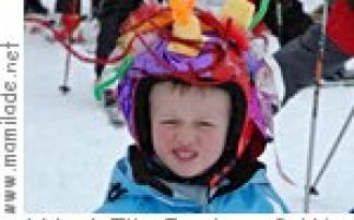 Crazy Helmet Day in Zürs