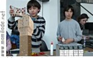 Workshop für Kinder, aut. architektur und tirol in Innsbruck