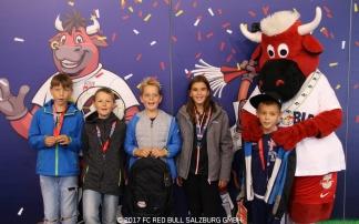Kinder Geburtstag mit dem FC Red Bull Salzburg