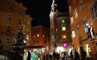 Christkindlmarkt in der Altstadt Innsbruck