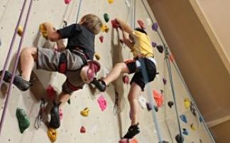 Kindergeburtstag im Kletterzentrum Tivoli in Innsbruck