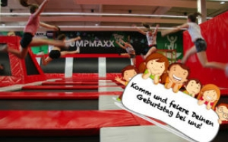 Kindergeburtstag im JumpMaxx Graz