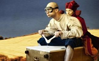 """Theater Feuerblau""""Kaiser Tunix"""" im Frida & fred"""