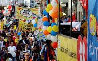 kidsparade in Linz
