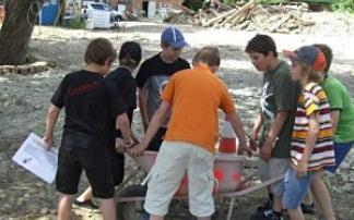 Kindergeburtstag im Baggerpark
