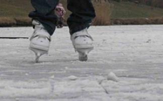 Eislaufen in Wolkersdorf (Obersdorf)