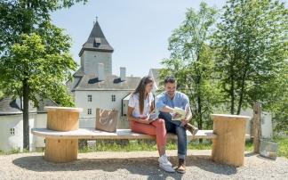 """NÖ Landesausstellung mit dem Los geht's Heft """"Auf den zweiten Blick"""""""