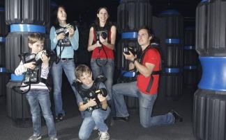 Lasertron im Cineplex Graz