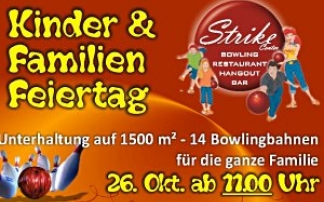 Kinder & Familien Feiertag im Strike Center Lauterach