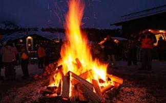 Weihnachtsmarkt am Rüfiplatz in Lech am Arlberg