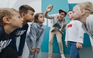 Kindergeburtstag im Museum der Illusionen