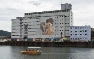 Mural Harbor in Linz