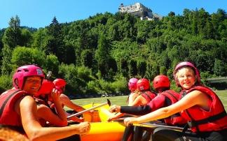 Familien Flusstour auf der Salzach