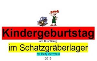 Kindergeburtstag am Buschberg