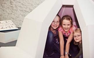 Schneckenkratzer und Wolkenhaus Kindermuseum Frida Fred Graz