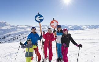 Schifahren in der Wildkogel-Arena