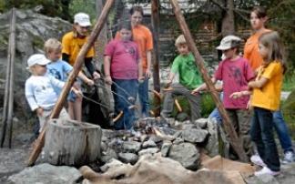 Kindergeburtstag im Ötzi-Dorf Umhausen