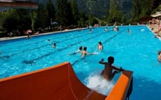 Freibad im Alpenbad Unken