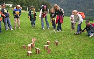 Kindergeburtstag im Wald der Sinne