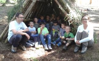 Kindergeburtstag in der Waldschule Bodensee