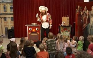 Zaubershow im Kindermuseum Schönbrunn