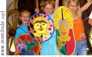 Kinderatelier im Keltenmuseum